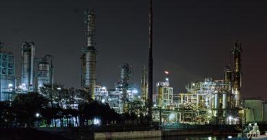 夜光町の工場夜景 [ 神奈川県 ]