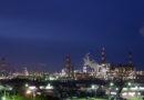 神栖市砂山都市緑地からみた工場夜景
